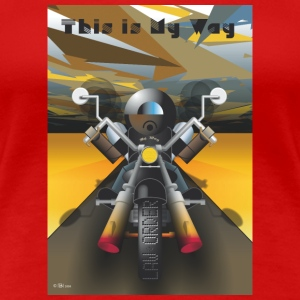 This_is_My_Way - Premium-T-shirt dam