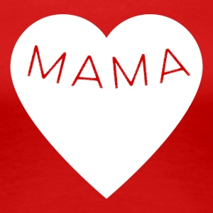 Mum with Heart - Women's Premium T-Shirt