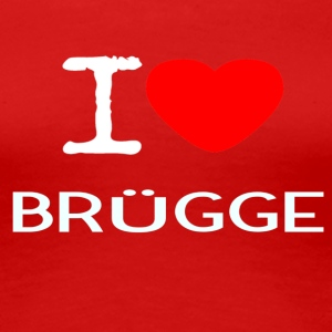 I LOVE BRUEGGE - Women's Premium T-Shirt