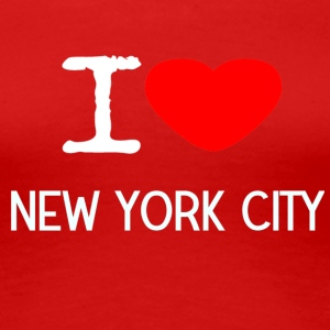 I LOVE NEW YORK CITY - Dame premium T-shirt
