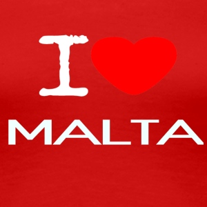 I LOVE MALTA - Women's Premium T-Shirt