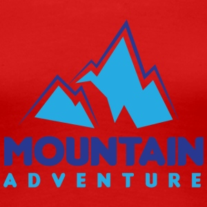 Mountain Adventure - Premium-T-shirt dam