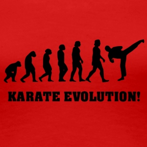 karate evolution - Premium-T-shirt dam
