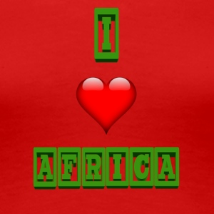 i love africa - Women's Premium T-Shirt