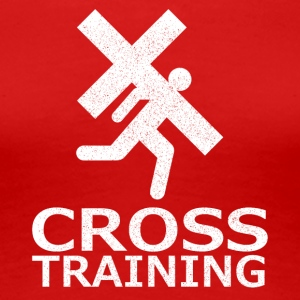 """Cross Training"" (sarcasm) - Women's Premium T-Shirt"