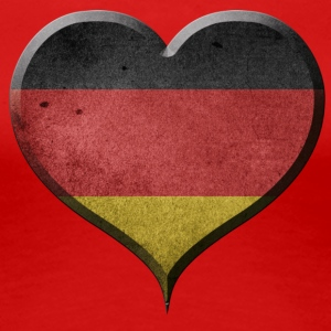 I LOVE GERMANY - TYSKLAND - Premium T-skjorte for kvinner