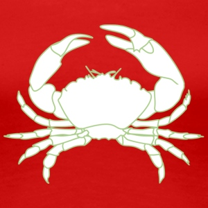 Green crab - Women's Premium T-Shirt