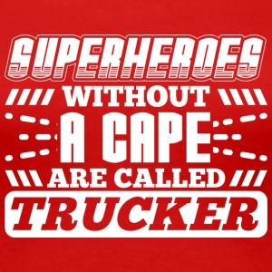 SUPERHEROES TRUCKER - Women's Premium T-Shirt