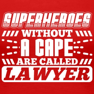 SUPERHEROES LAWYER - Women's Premium T-Shirt