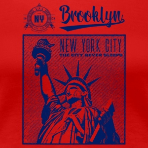 New York City · Brooklyn - Vrouwen Premium T-shirt