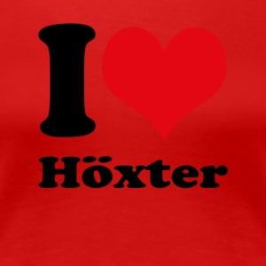 I love Hoexter - Women's Premium T-Shirt
