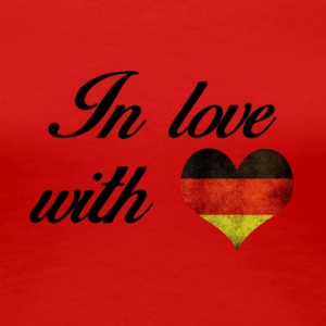 In love with Germany - Women's Premium T-Shirt