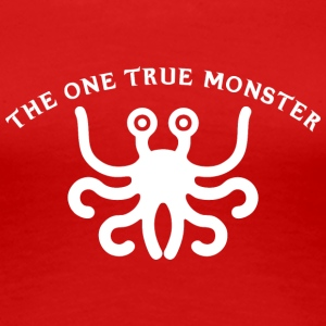 the one true monster white 2 - Women's Premium T-Shirt
