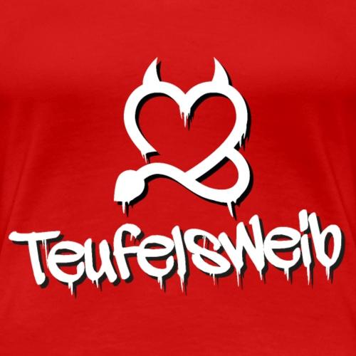Teufelsweib - Frauen Premium T-Shirt