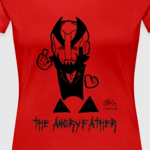 THE ANGRYFATHER - Premium-T-shirt dam