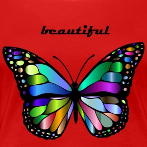 colorful butterfly - Women's Premium T-Shirt