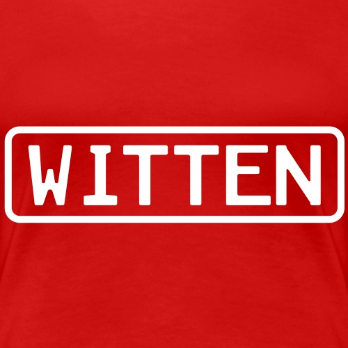 Witten - Frauen Premium T-Shirt