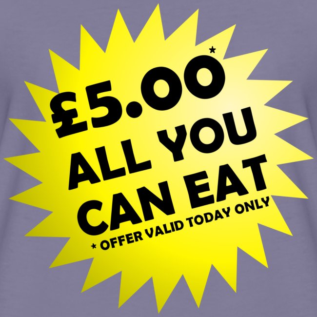 All You Can Eat Special Offer