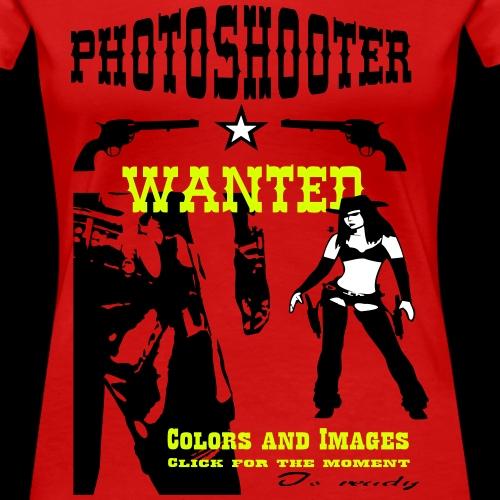 Photoshooter_Girl_2 - Frauen Premium T-Shirt