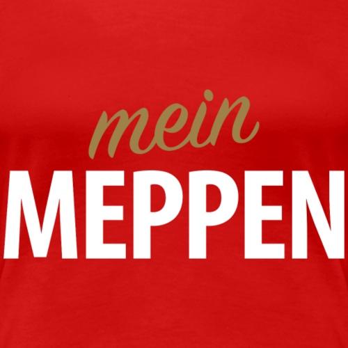 Mein Meppen - Frauen Premium T-Shirt