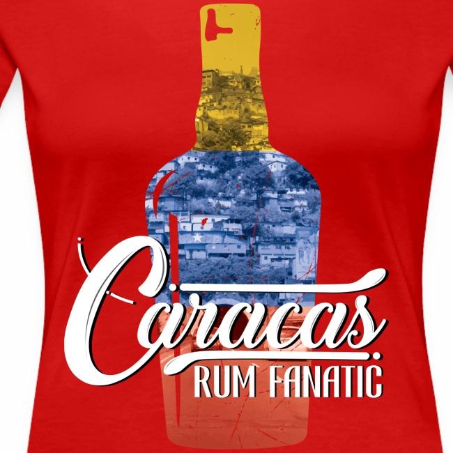 T-shirt Rum Fanatic - Caracas, Wenezuela