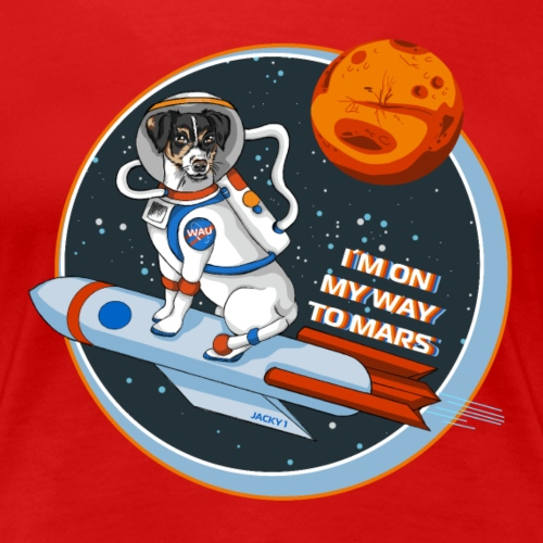 Astrodog - Frauen Premium T-Shirt