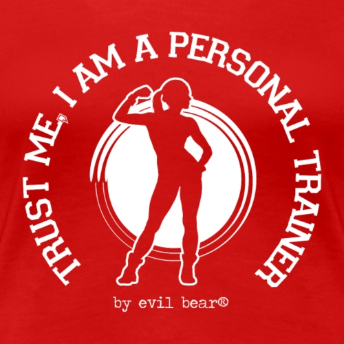 PERSONAL TRAINER 04 - Koszulka damska Premium