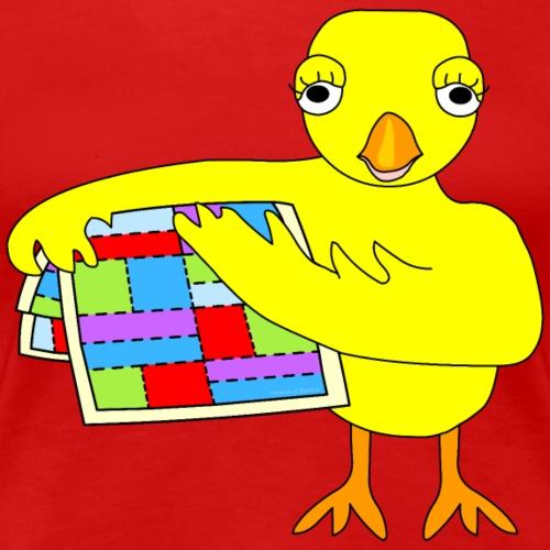 Quilting Chick - Women's Premium T-Shirt