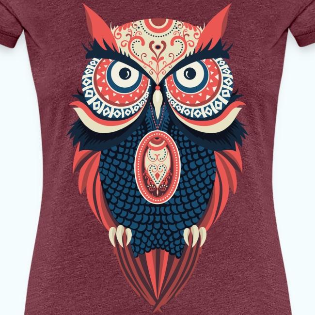 Hippie owl
