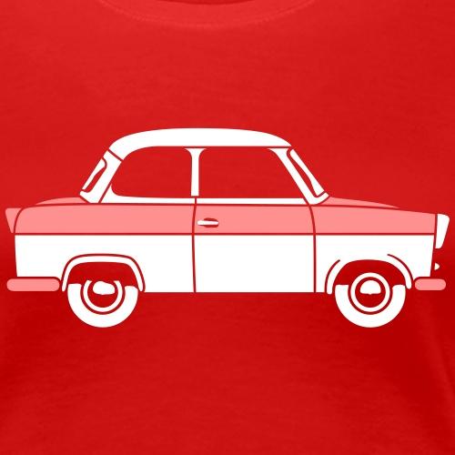 Trabant 500 Coupé 2c - Women's Premium T-Shirt
