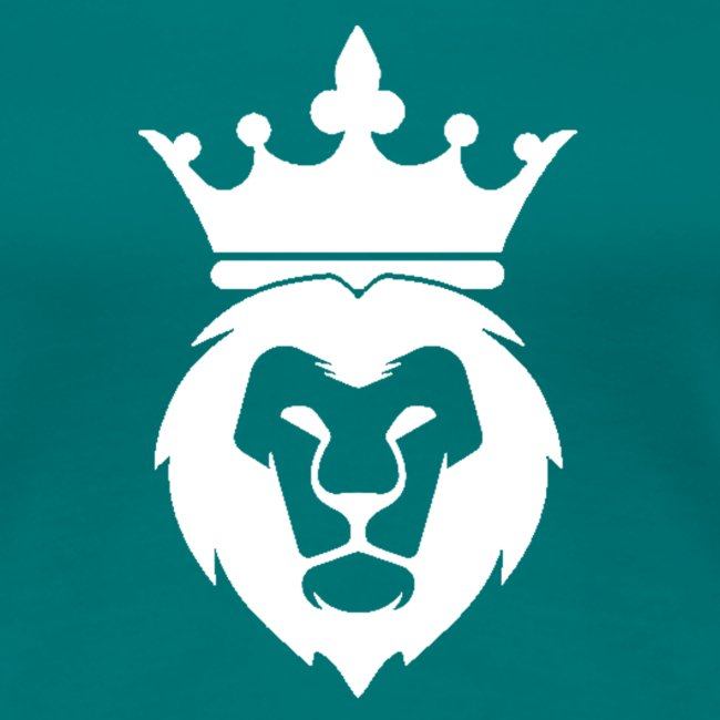 Lion_Logo_with_Crown_St--rre_bild_-white-