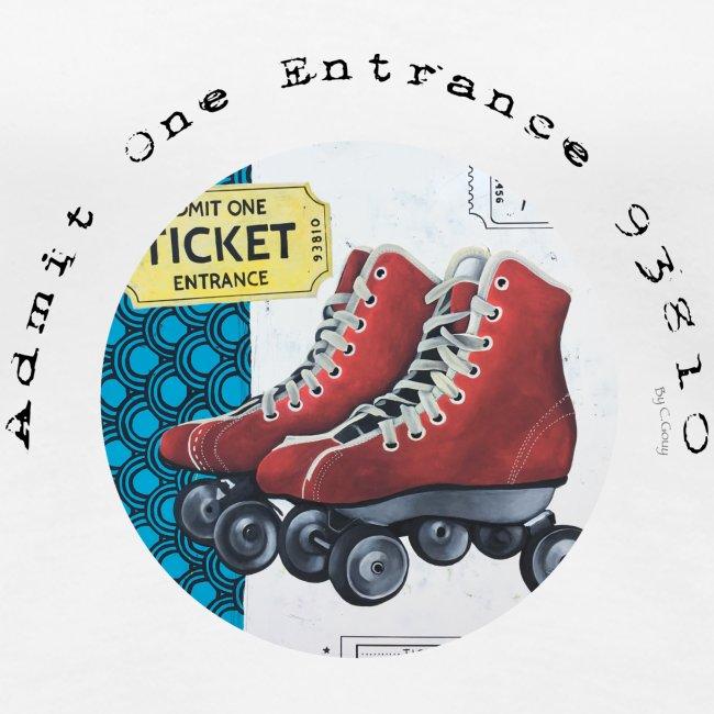 Admit One Ticket Entrance