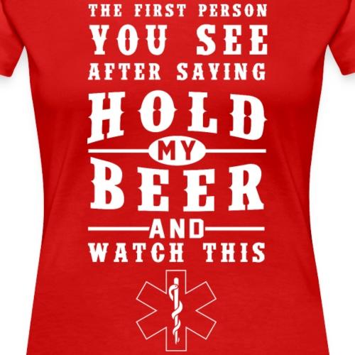 Paramedic - Naisten premium t-paita