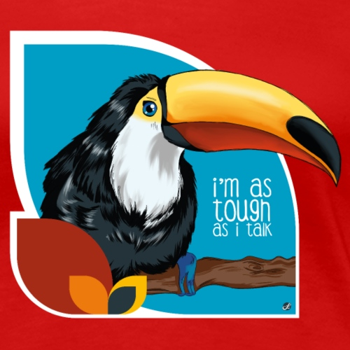 Tukan - großer Schnabel - Frauen Premium T-Shirt