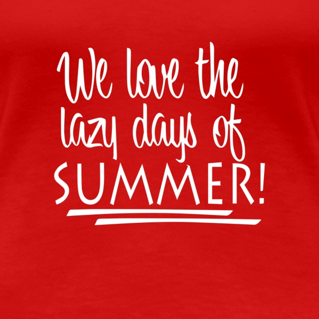 La paresse en été