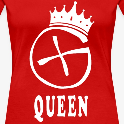 Geocaching Queen - Frauen Premium T-Shirt