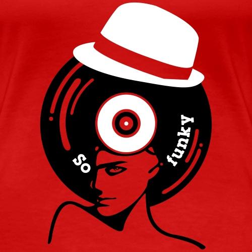 So funky borsalino vinyl - T-shirt Premium Femme