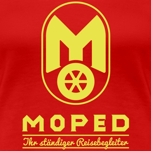 Moped - your constant travel companion - Women's Premium T-Shirt