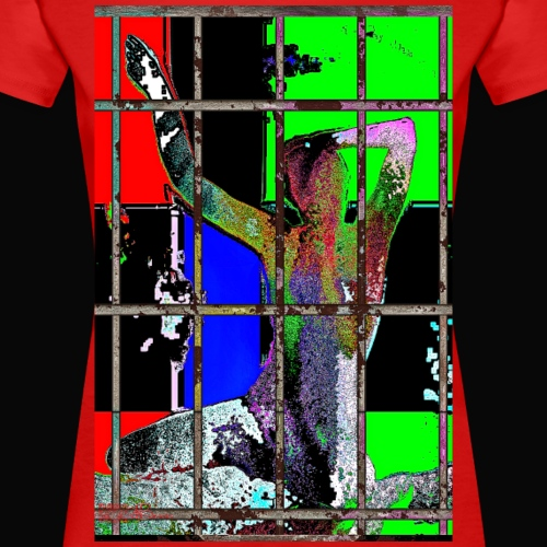 Eingesperrt - Frauen Premium T-Shirt