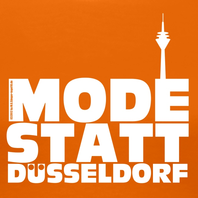 Mode statt Düsseldorf Kapuzenjacke