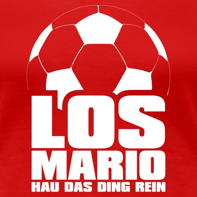 Fodbold - Go Mario, Hau ting ren (hvid)