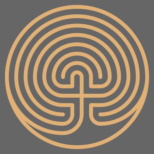 Labyrinth Heiliges Symbol - Frauen Premium T-Shirt