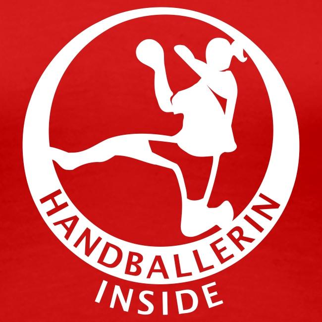 Handballerin inside