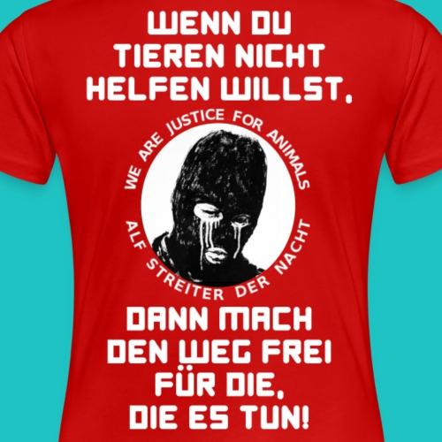 Weg frei - Frauen Premium T-Shirt