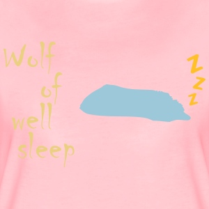 Wolf of (wall st) well sleep - Frauen Premium T-Shirt