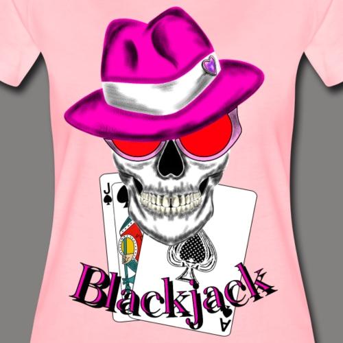 Blackjack for Woman - Frauen Premium T-Shirt