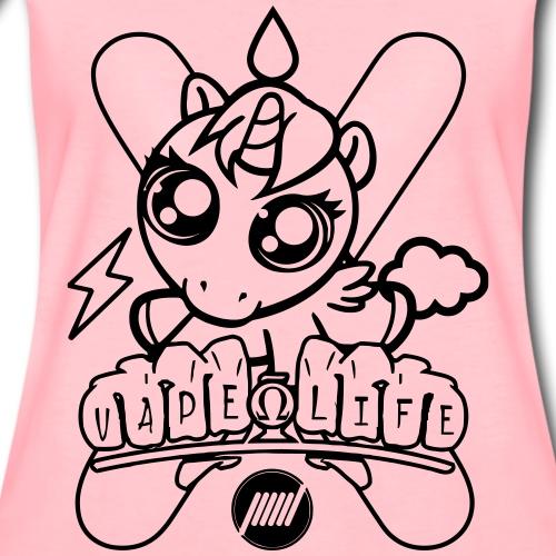 Unicorn Vape Life - Maglietta Premium da donna