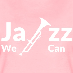 JAZZ WE CAN - blanc - T-shirt Premium Femme