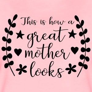 What does a great mother look like? - Women's Premium T-Shirt