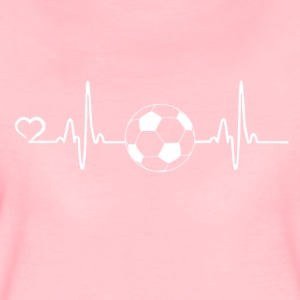 Football - battement de coeur - T-shirt Premium Femme